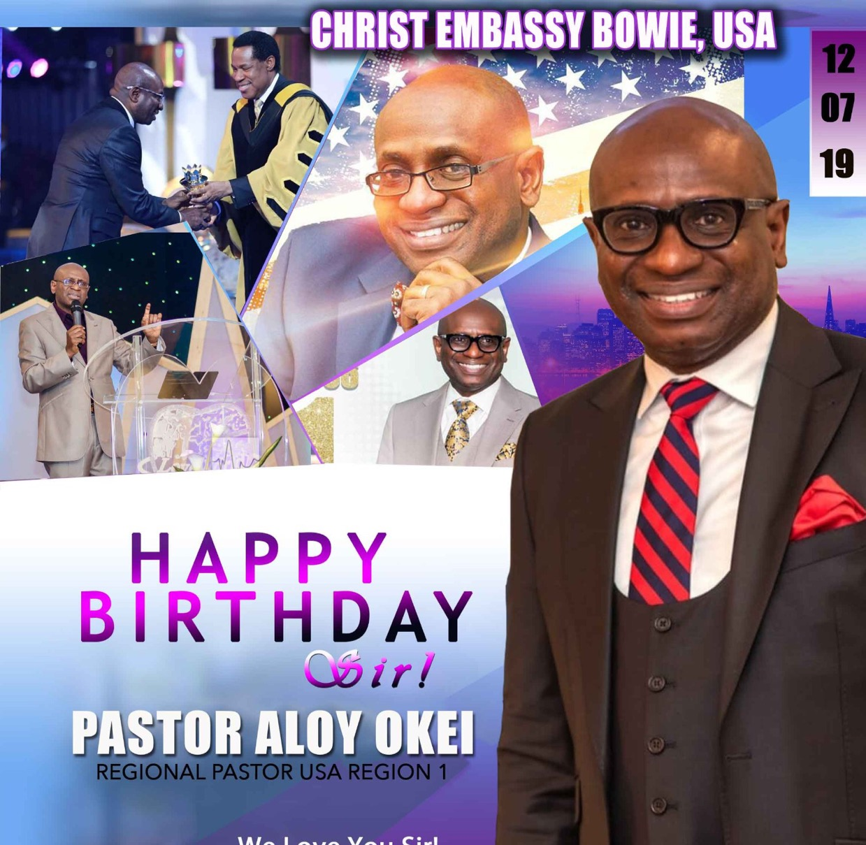 CHRIST EMBASSY BOWIE, MD USA.