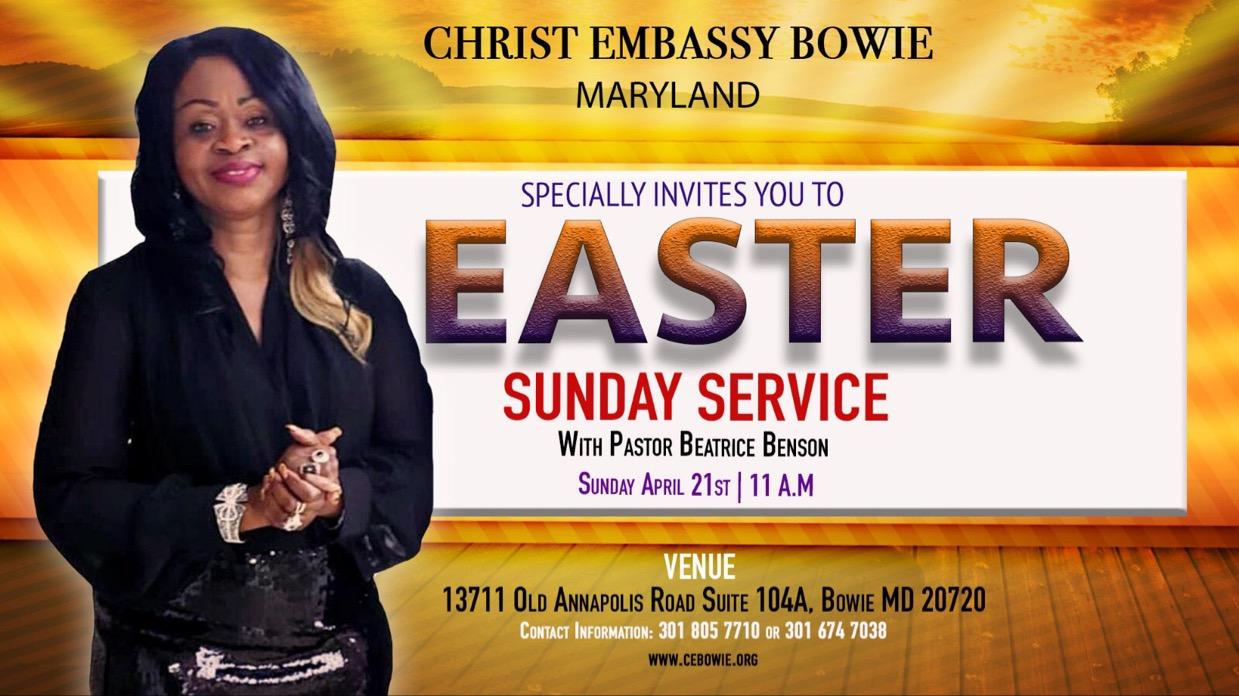 CHRIST EMBASSY BOWIE MARYLAND USA.