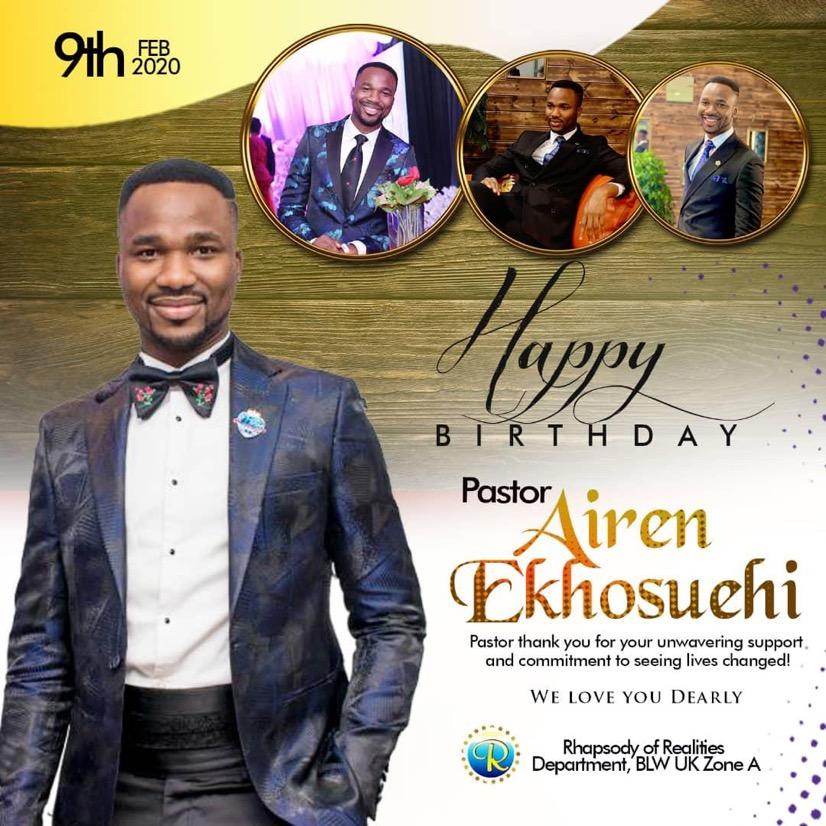 Happy Birthday Sir! We Appreciate,