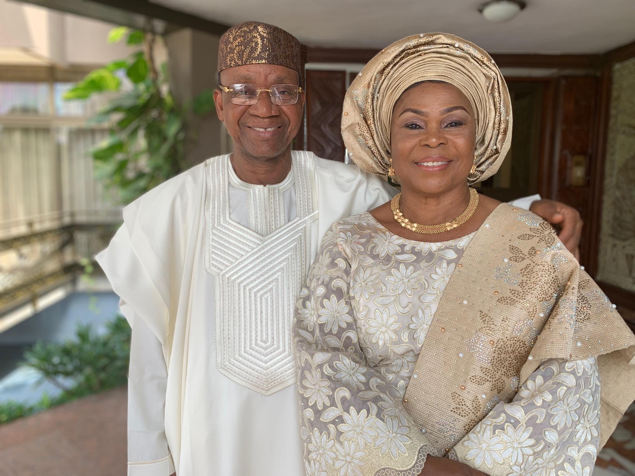 Congratulations dad and mum
