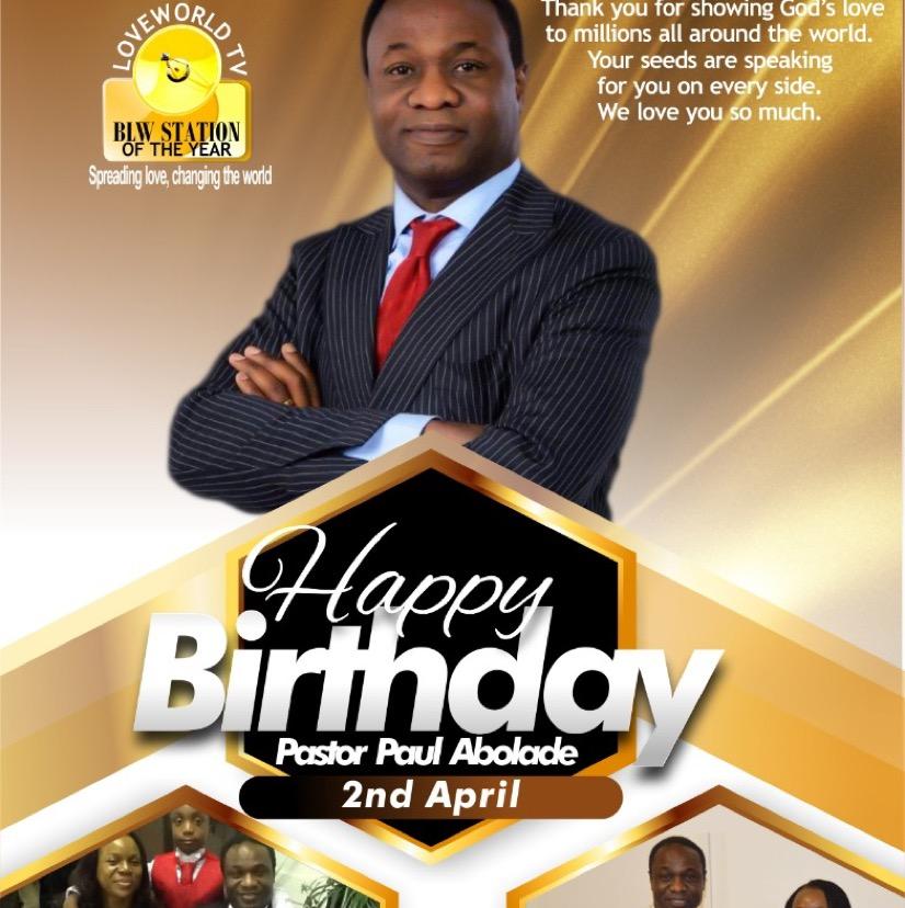 Happy Birthday to Gods General,