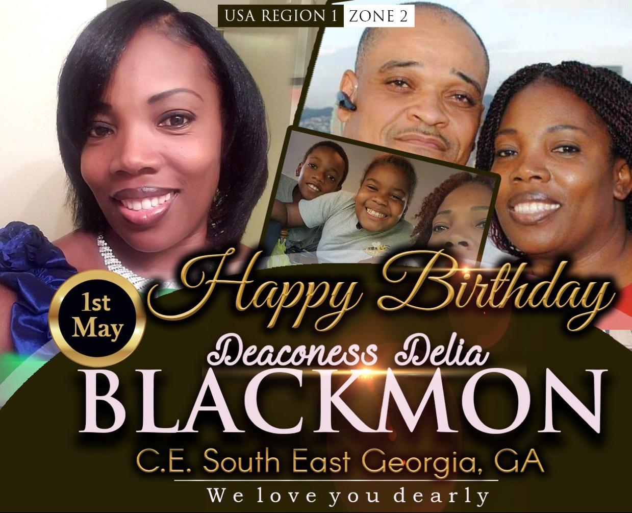 Happy Birthday Deaconess Delia Blackmon
