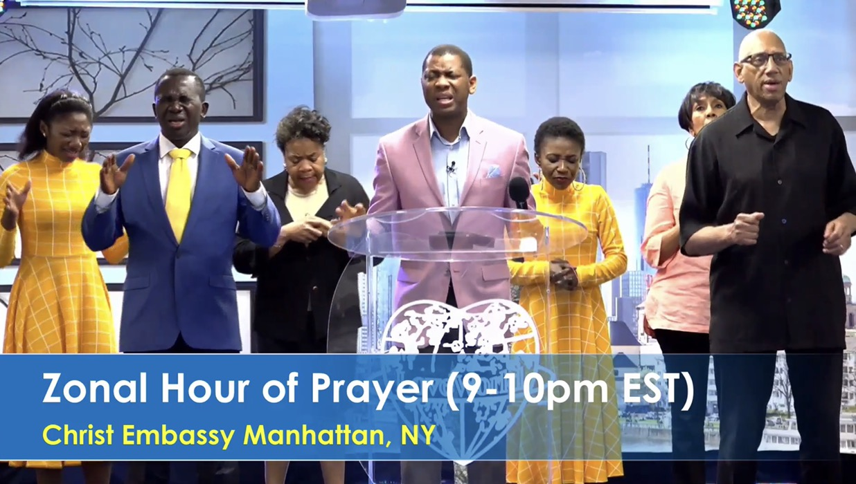 🇺🇸🎉🙏HIGHLIGHTS: Zonal Hour of Prayer!