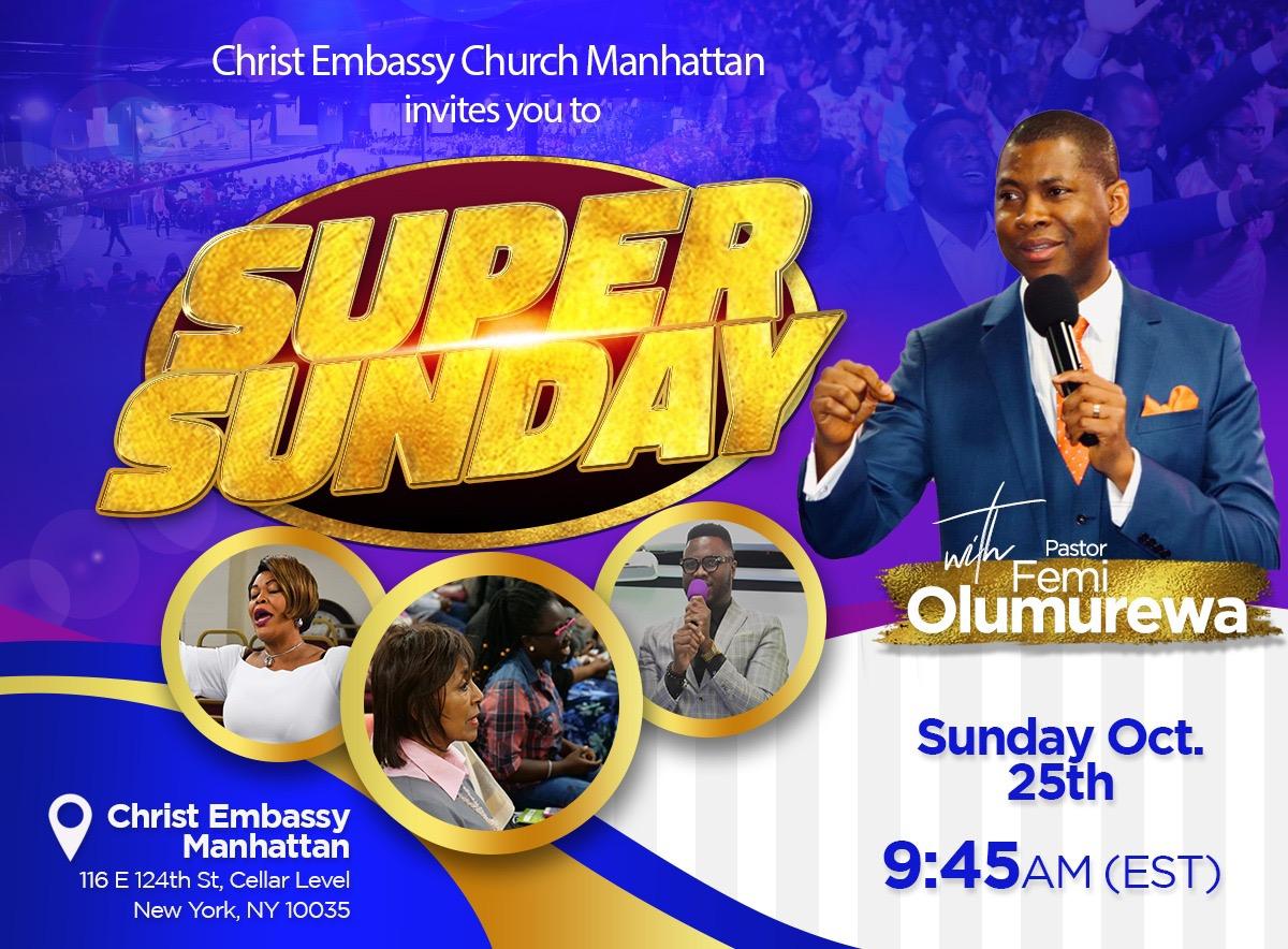 🇺🇸🎉Happening this Sunday: Super Sunday