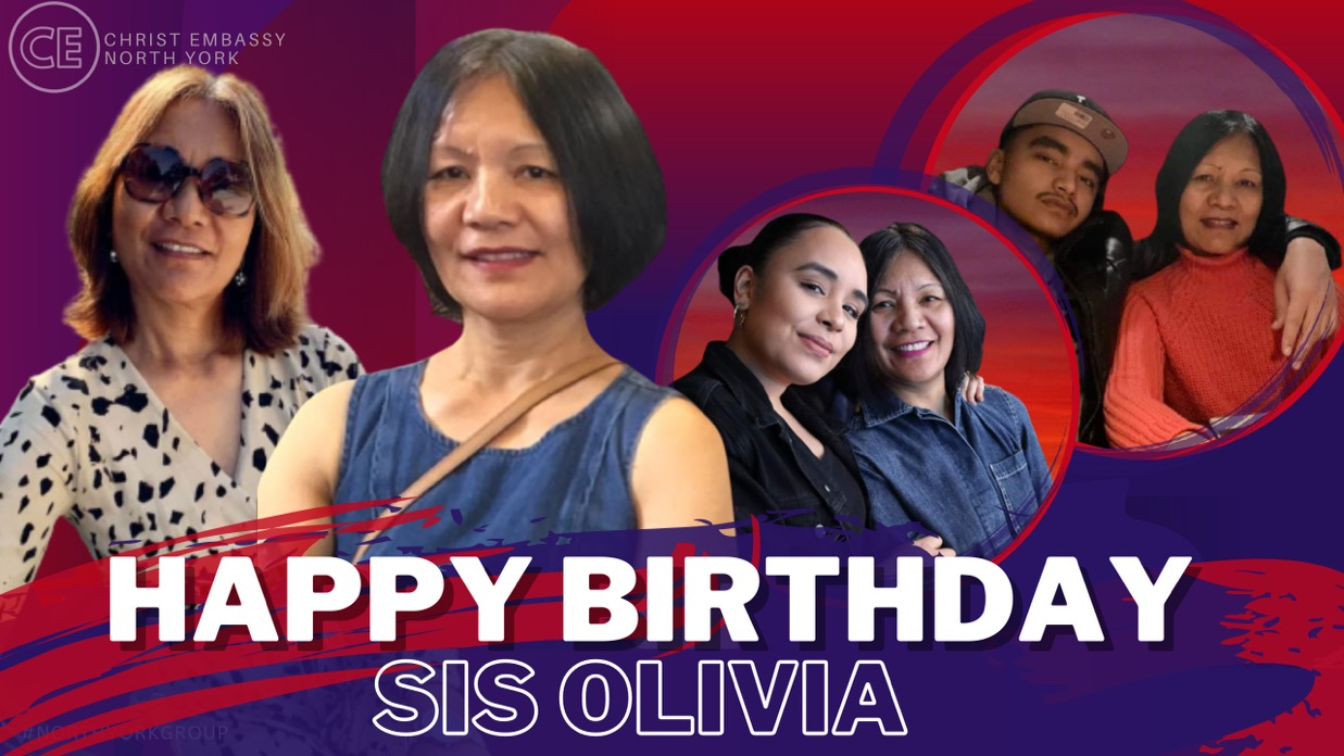 Happy Birthday Dearest Sis Olivia!