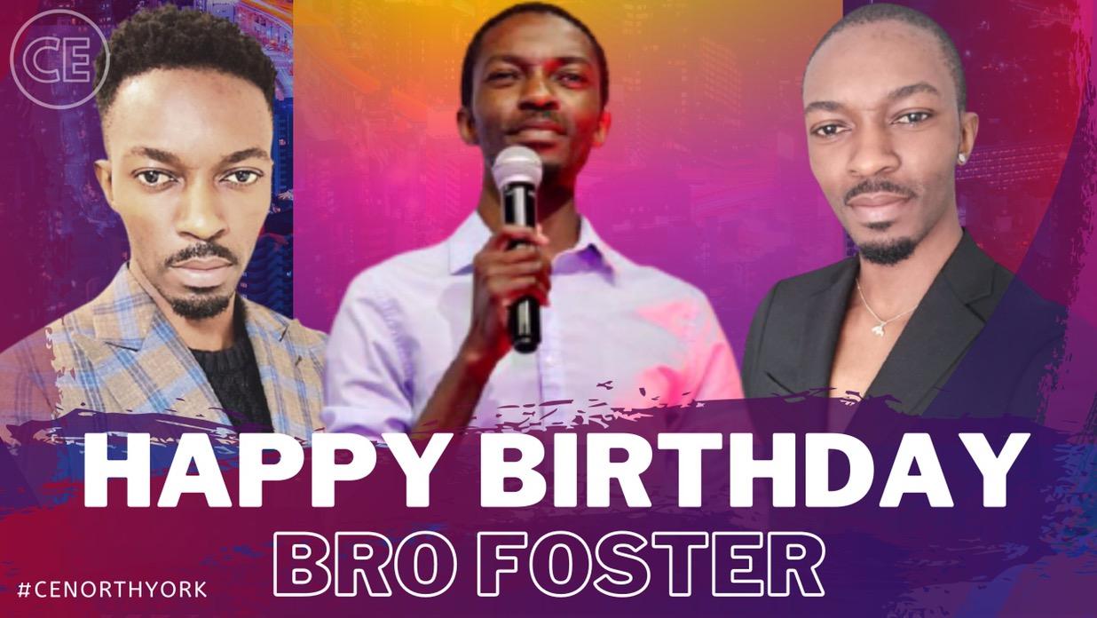Happy Birthday Dearest Bro Foster!