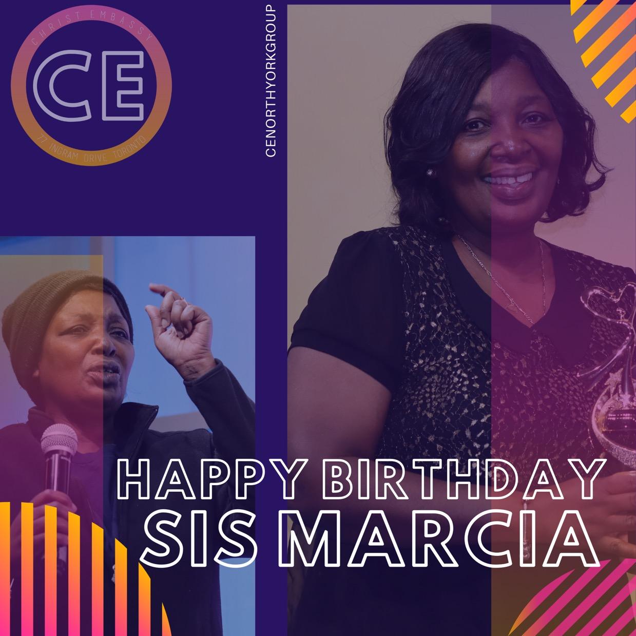 Happy Birthday Dearest Sis Marcia.