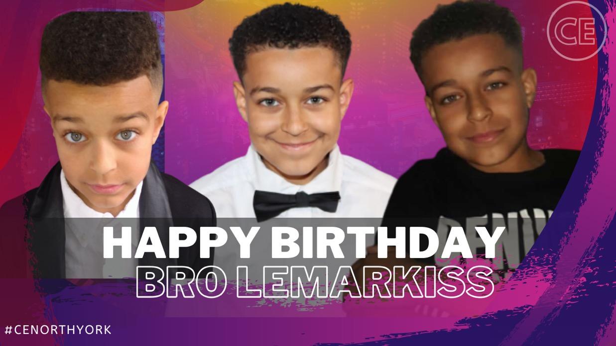 Happy Birthday Dearest Bro Lemarkiss!