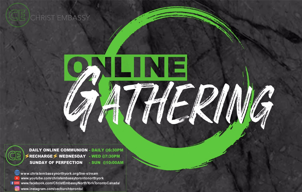 """Our Daily """"ONLINE GATHERING"""" experience"""