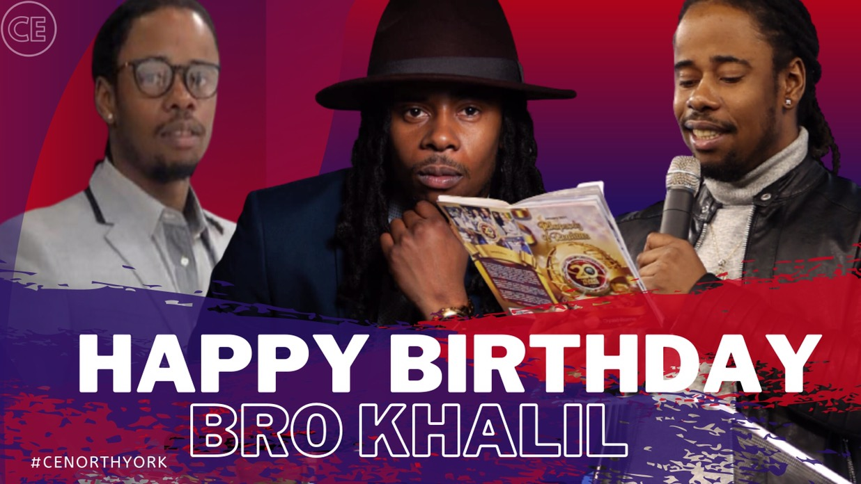 Happy Birthday Dearest Bro Khalil.