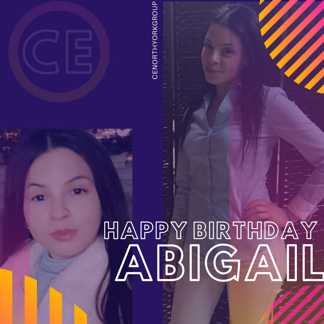 Happy Birthday dear Sis Abigail,