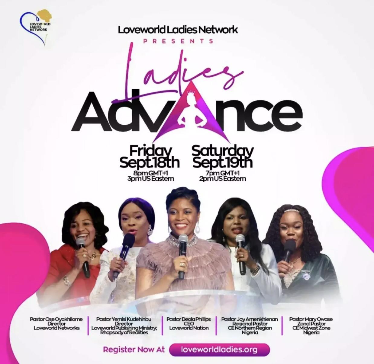 🌸 LADIES' ADVANCE! 🌸 Get