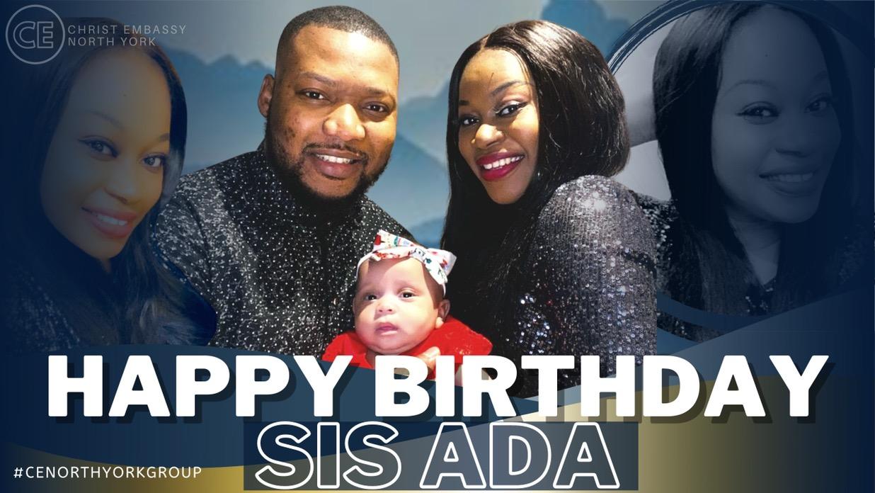 Happy Birthday Dearest Sis Ada!
