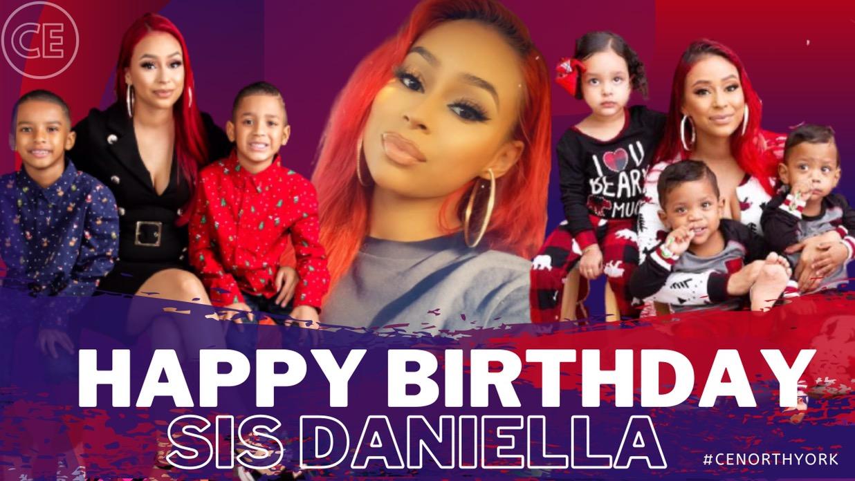 Happy Birthday Dearest Sis Daniella.