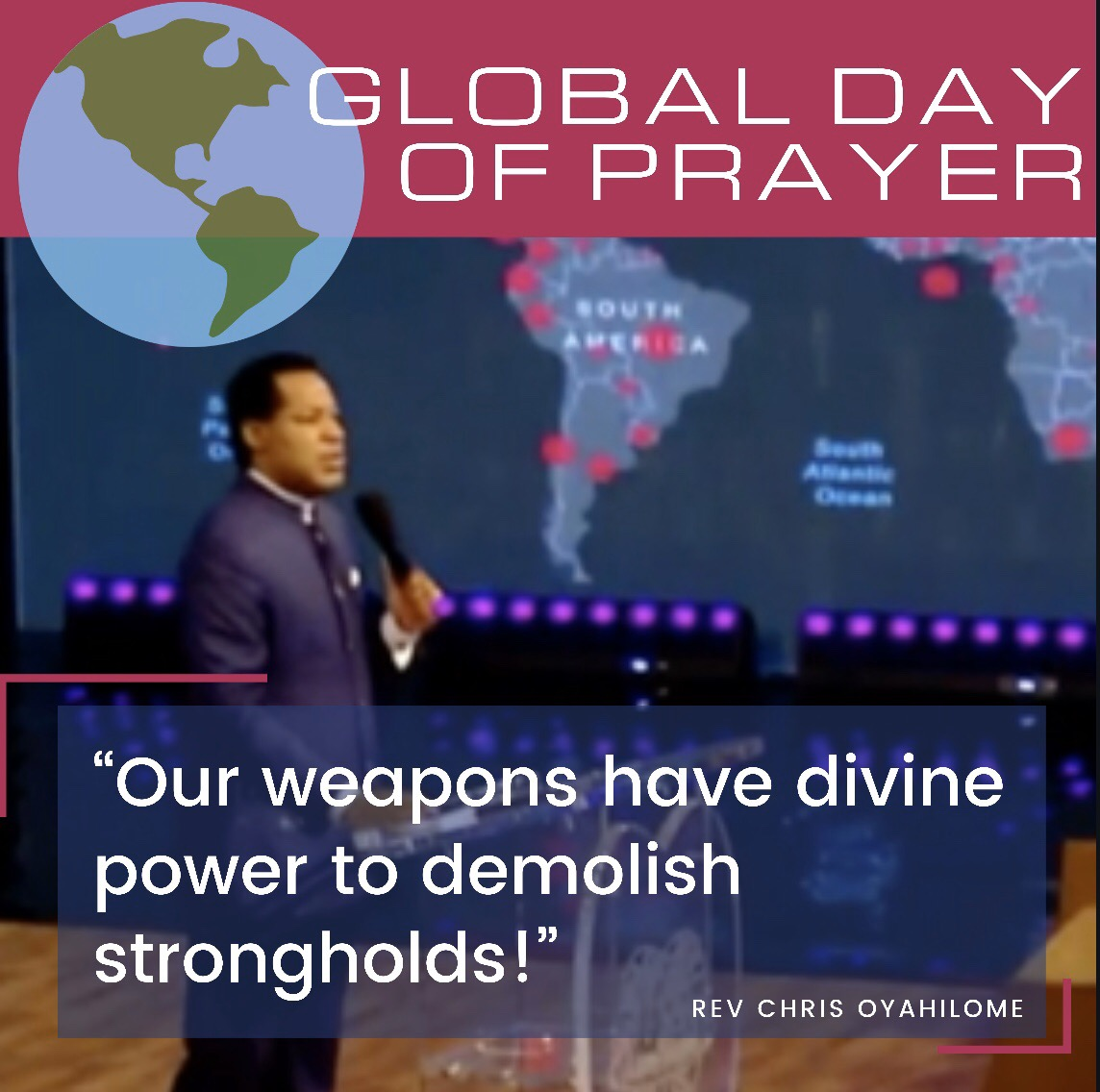 """""""Our weapons have divine power"""