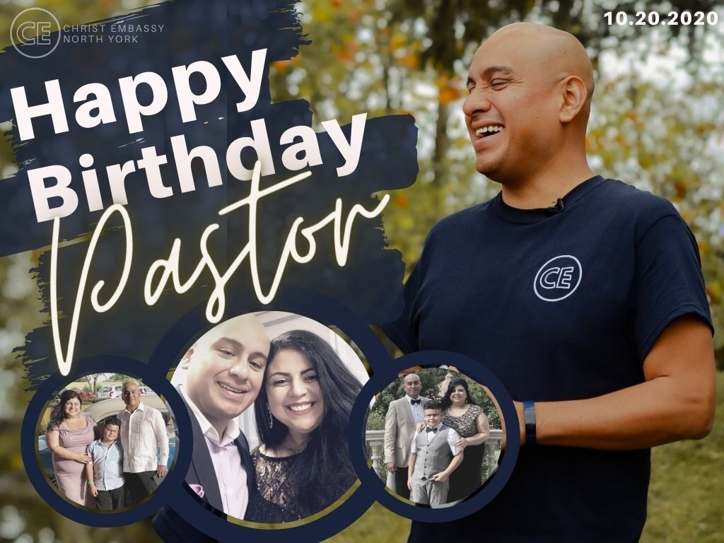 Wishing our Dear Pastor Happy