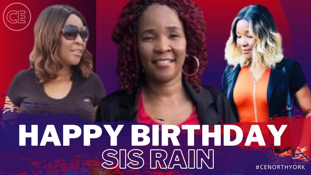 Happy Birthday Dearest Sister Rain