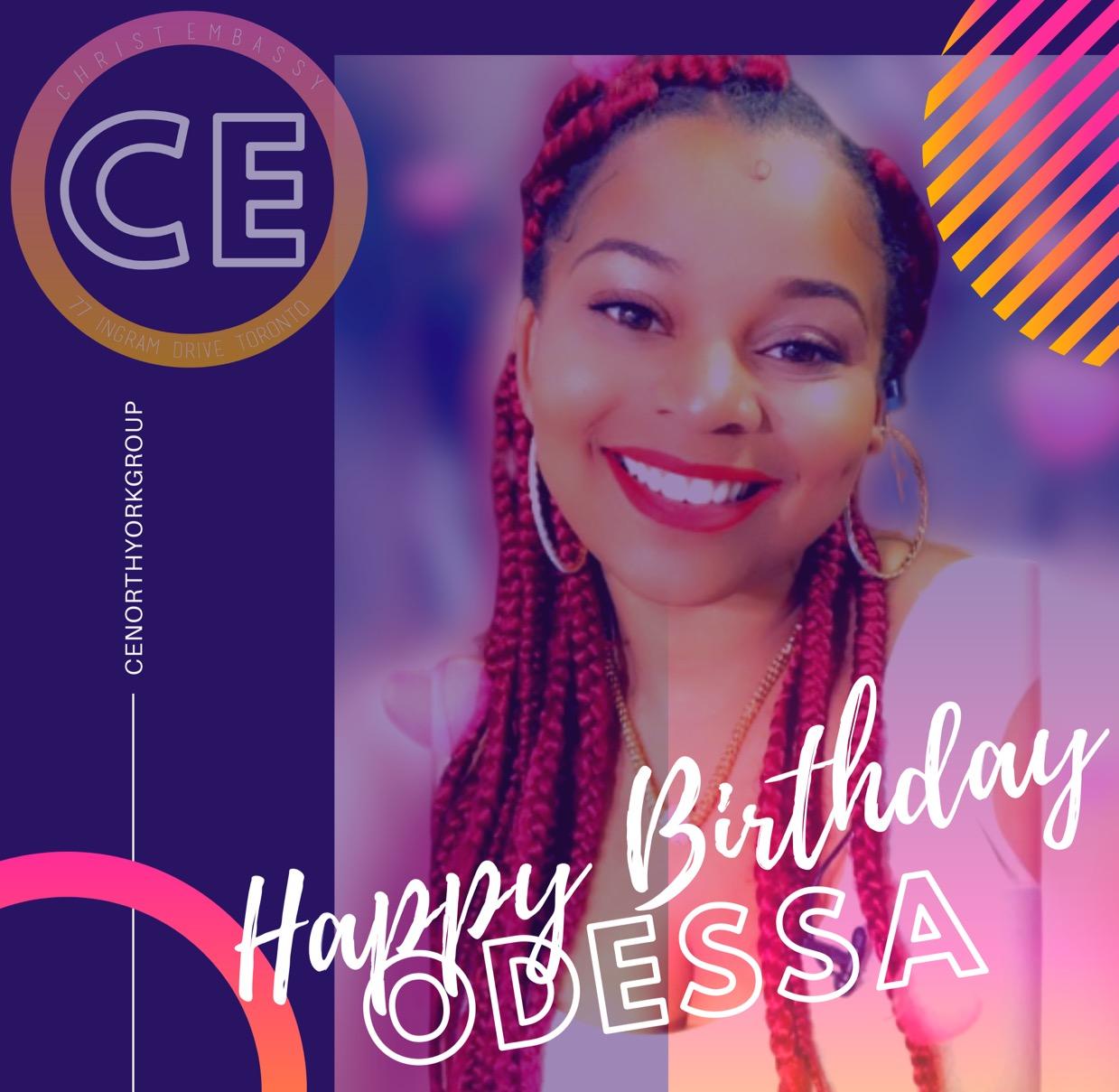 Happy Birthday dearest Sis Odessa!