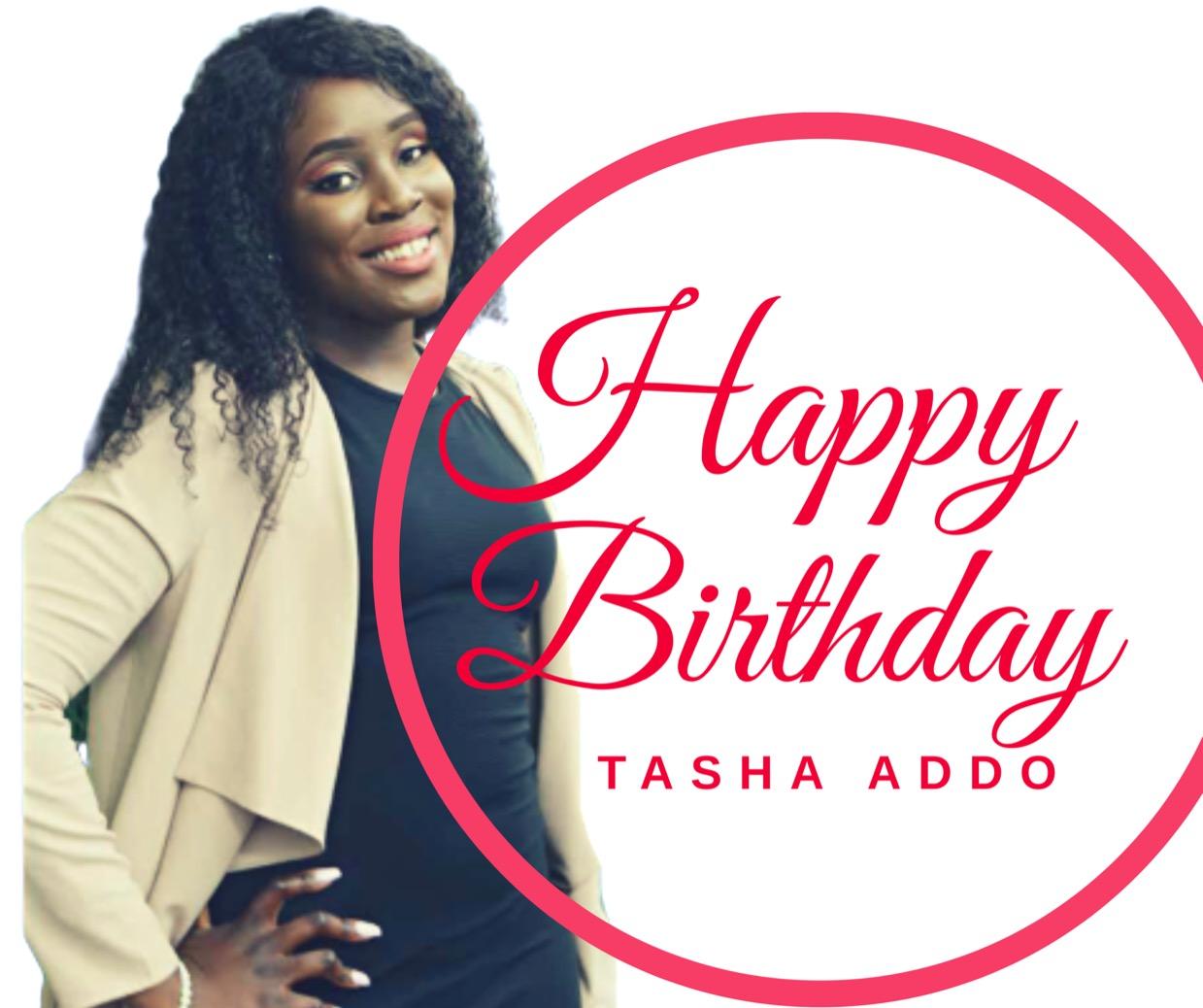 Happy Birthday dear Sis Tasha!