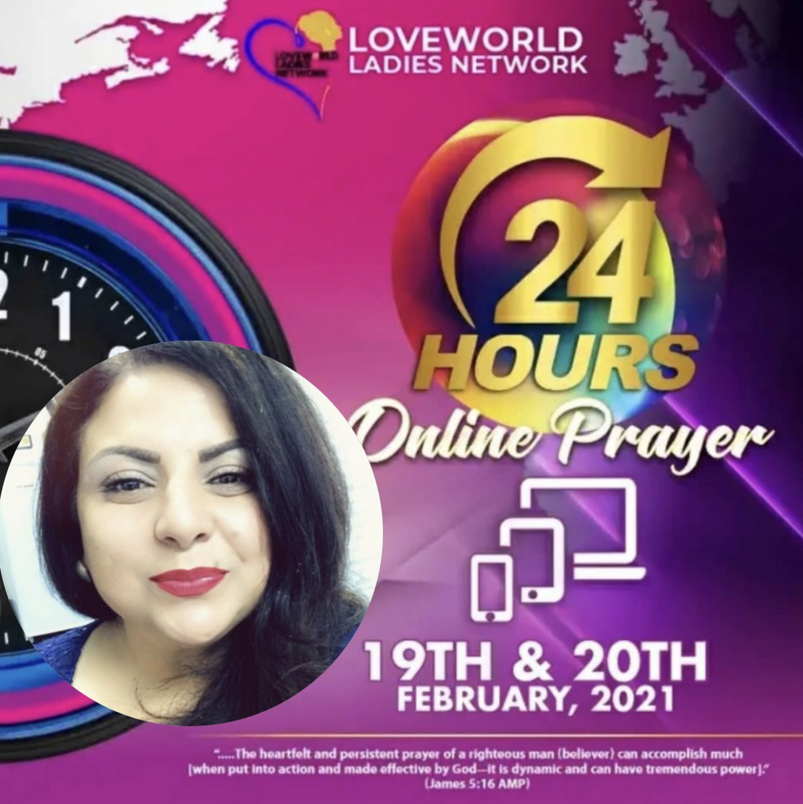Praying Now! LOVEWORLD Ladies 24