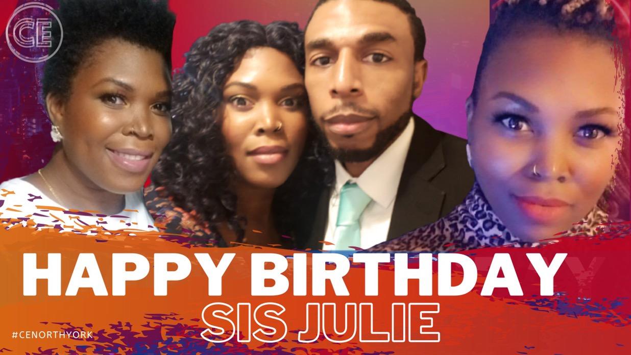 Happy Birthday Dearest Sis Julie!
