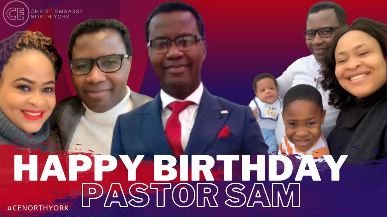 Happy Birthday Dearest Pastor Sam!