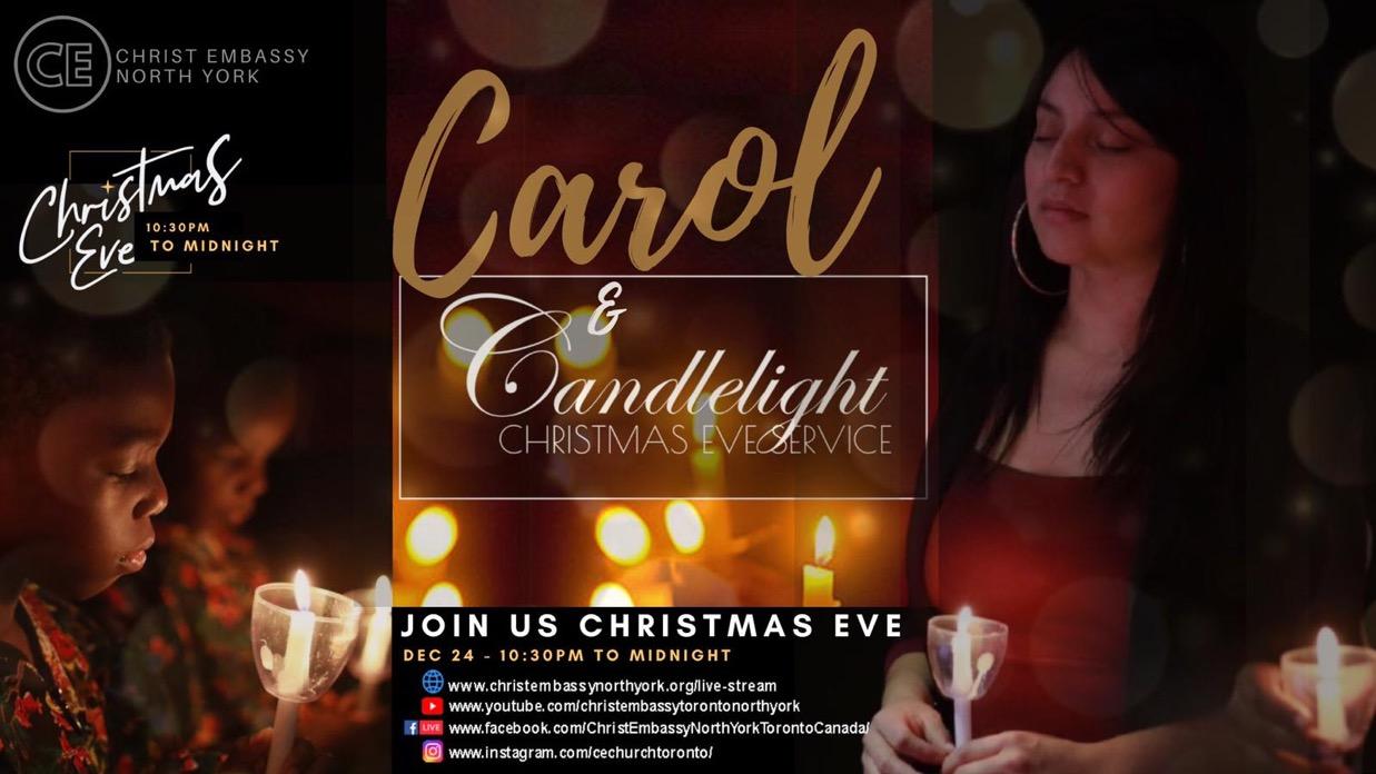 CHRISTMAS EVE CANDLELIGHT SERVICE! Mark