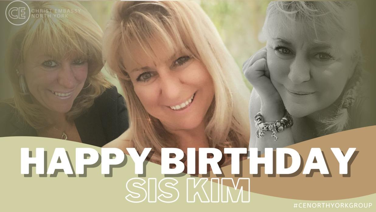 Happy Birthday Dearest Sis Kim!