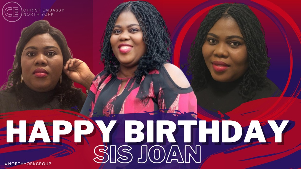 Happy Birthday Dearest Sis Joan