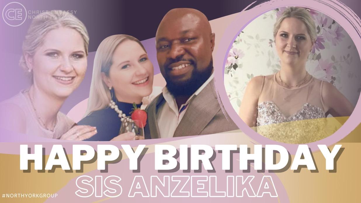 Happy Birthday Dearest Sis Anzelika!