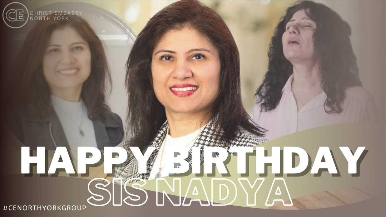 Happy Birthday Dearest Sis Nadya!