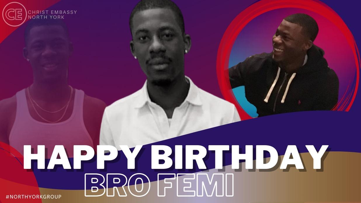 Dearest Bro Femi, On this