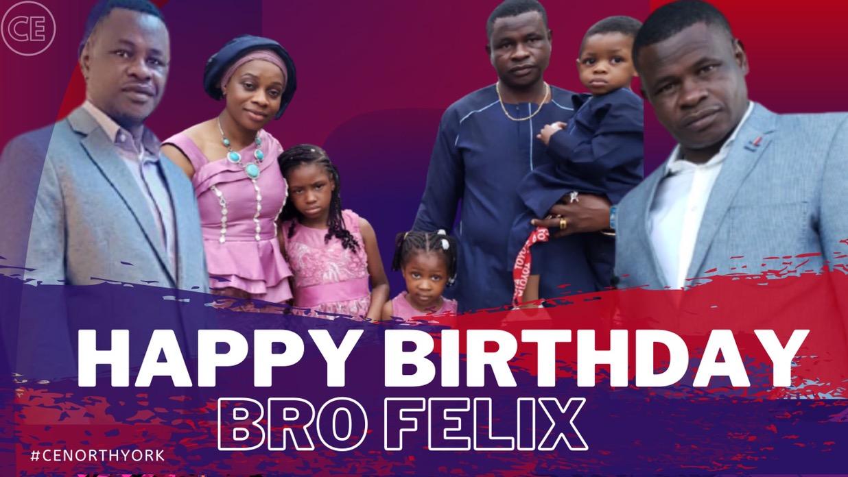 Happy Birthday Dearest Bro Felix