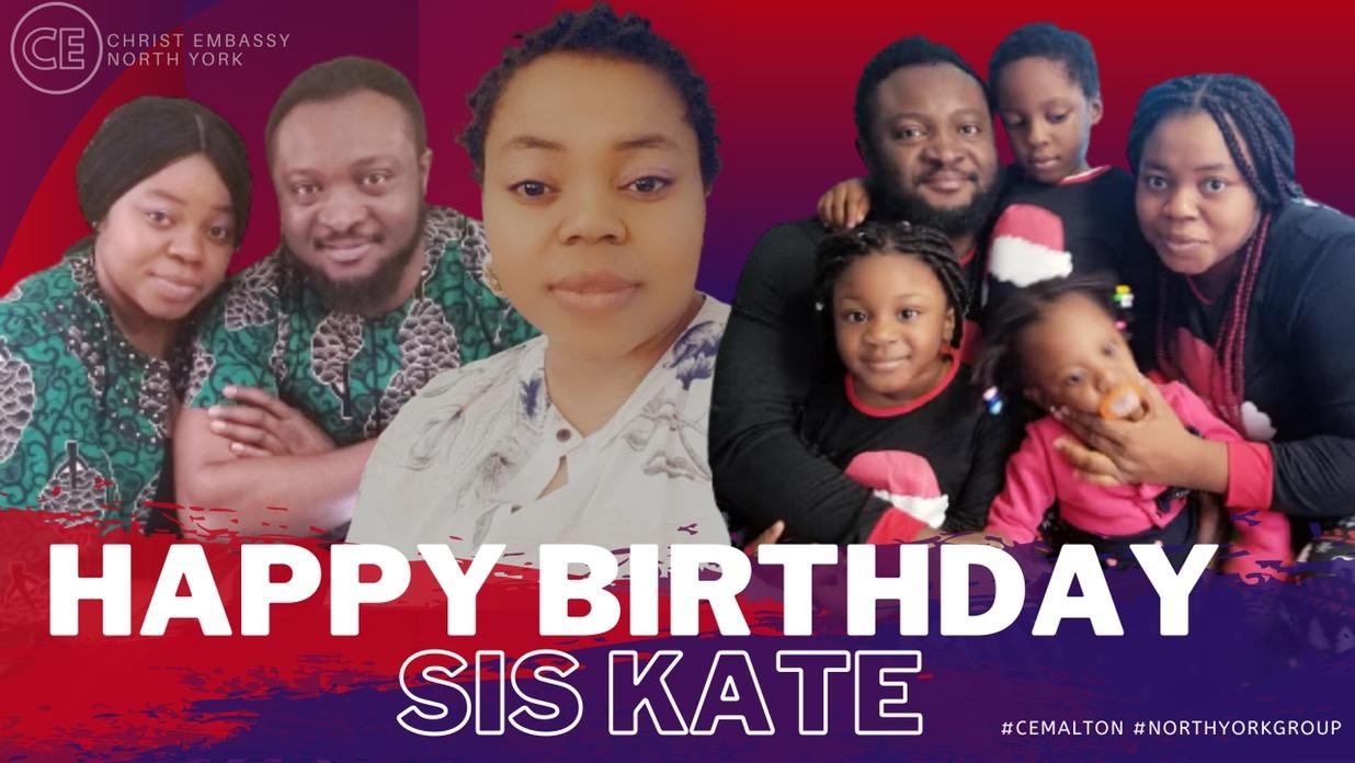 Happy Birthday Dearest Sis Kate!