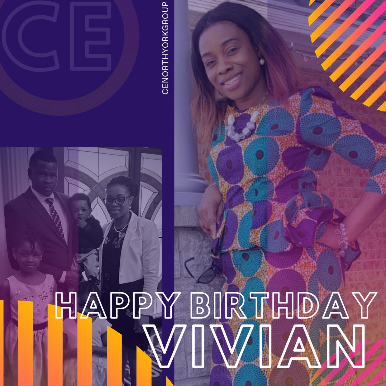 Happy Birthday Dearest Sis Vivian!