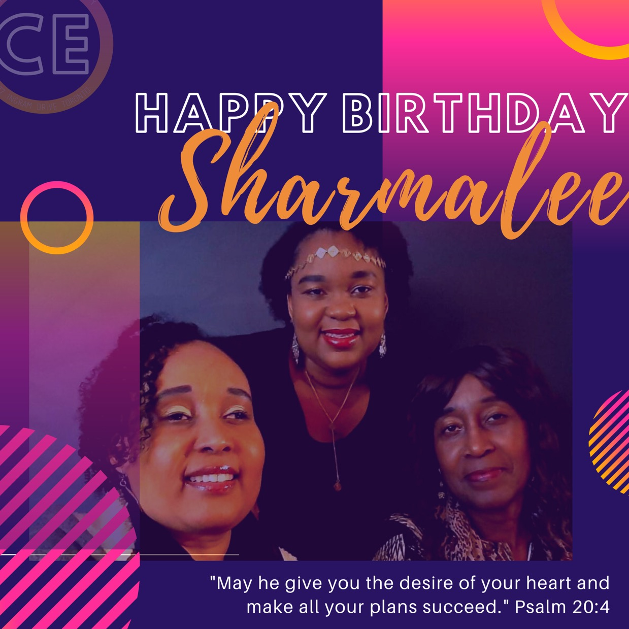Happy Birthday Dearest Sharmalee. You