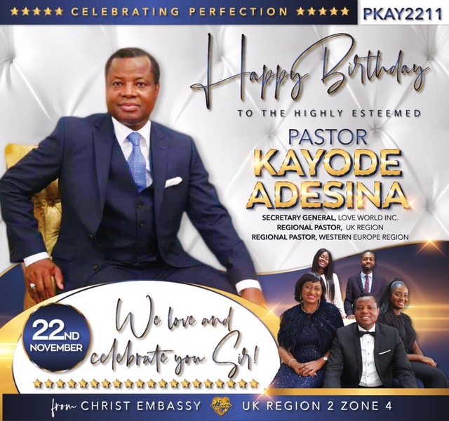 Happy birthday to our Esteemed