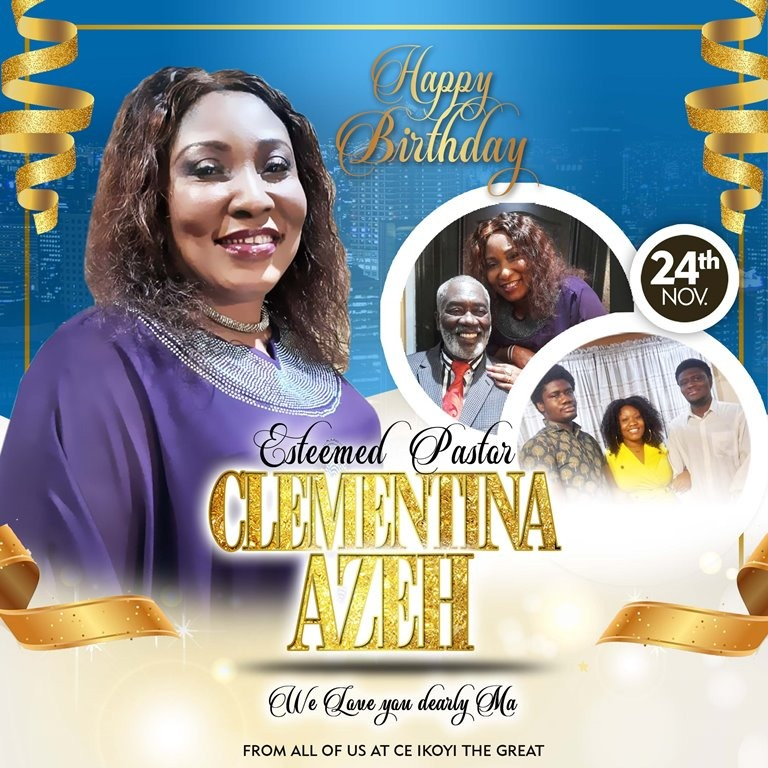 Happy Birthday Esteemed Pastor Ma,