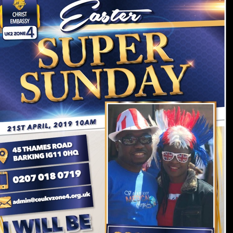 Super Sunday would be life