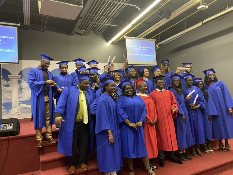 Foundation School Grads 👩🎓 #CEScarborough