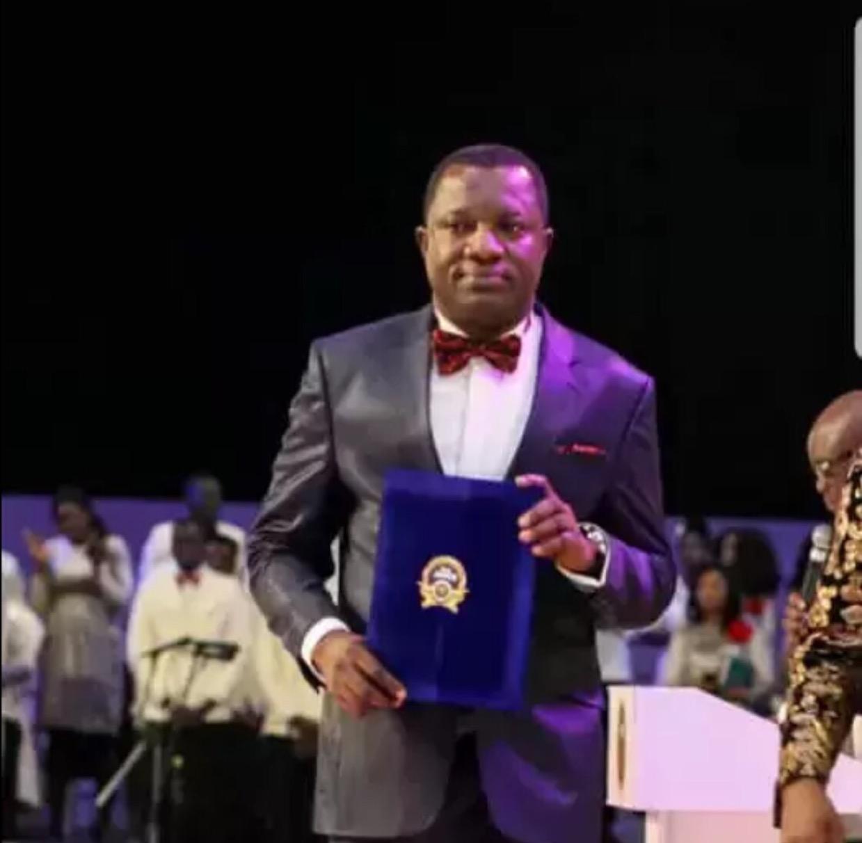Happy Birthday Pastor Ransford Adu