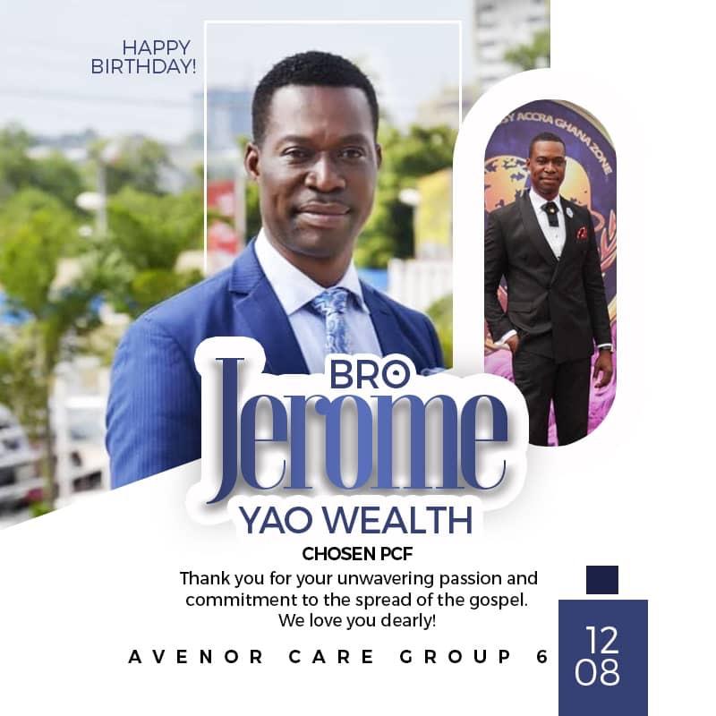 A Perfect Birthday Bro Jerome