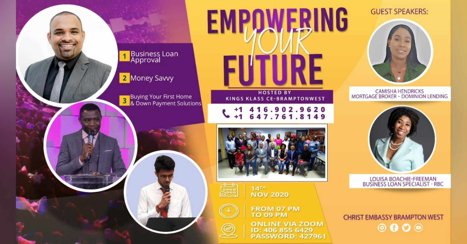 EMPOWERING YOUR FUTURE. Covid-19 should