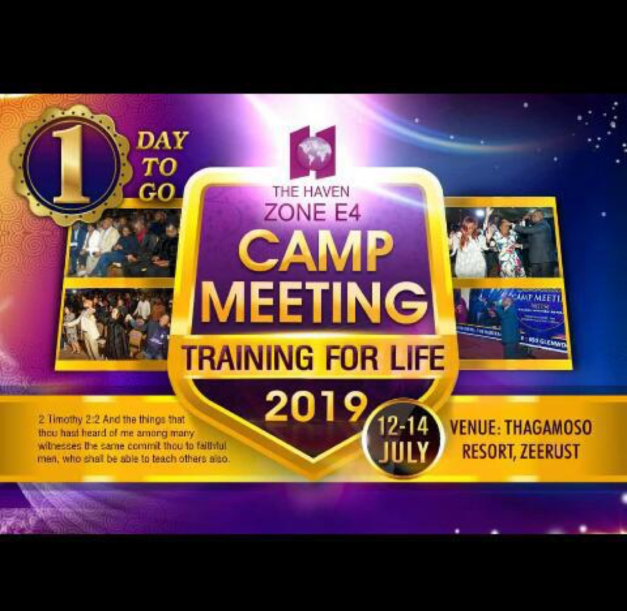 #Thehavennation #CESouthernAfrica #Campmeeting #Zo