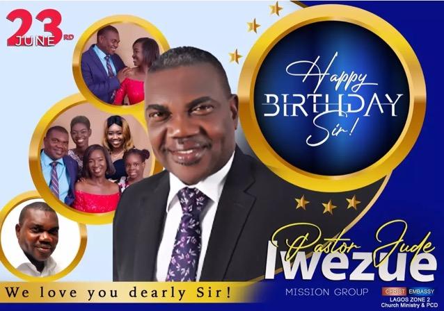 Happy Birthday Pastor Sir.