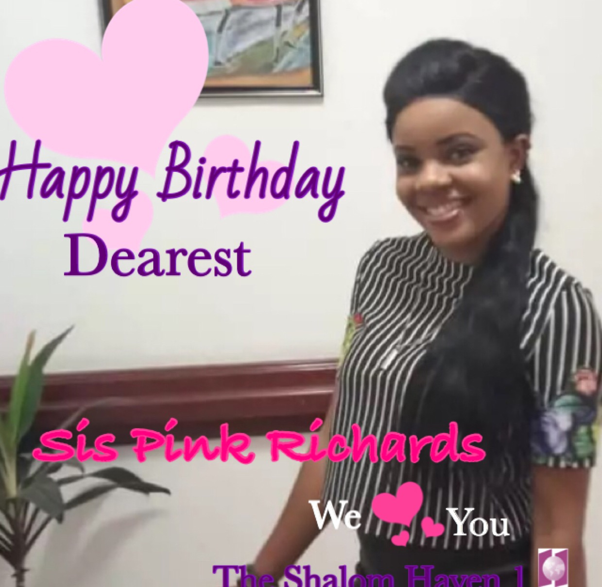 Celebrating a very Special Daughter