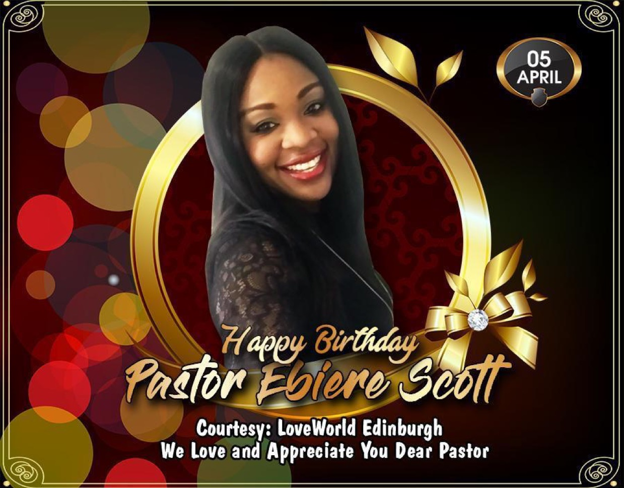 Happy BD Pastor, we join