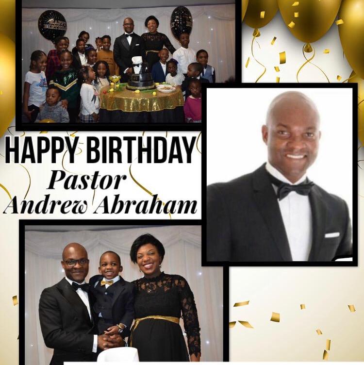 I am celebrating my Pastor