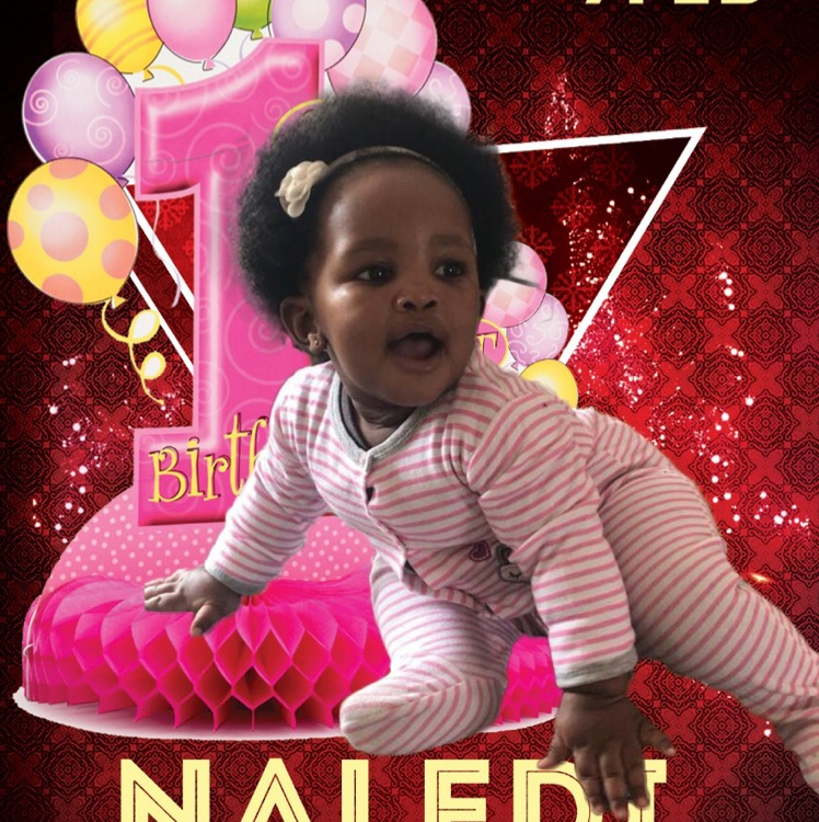 Happy Birthday Baby Naledi!! Your