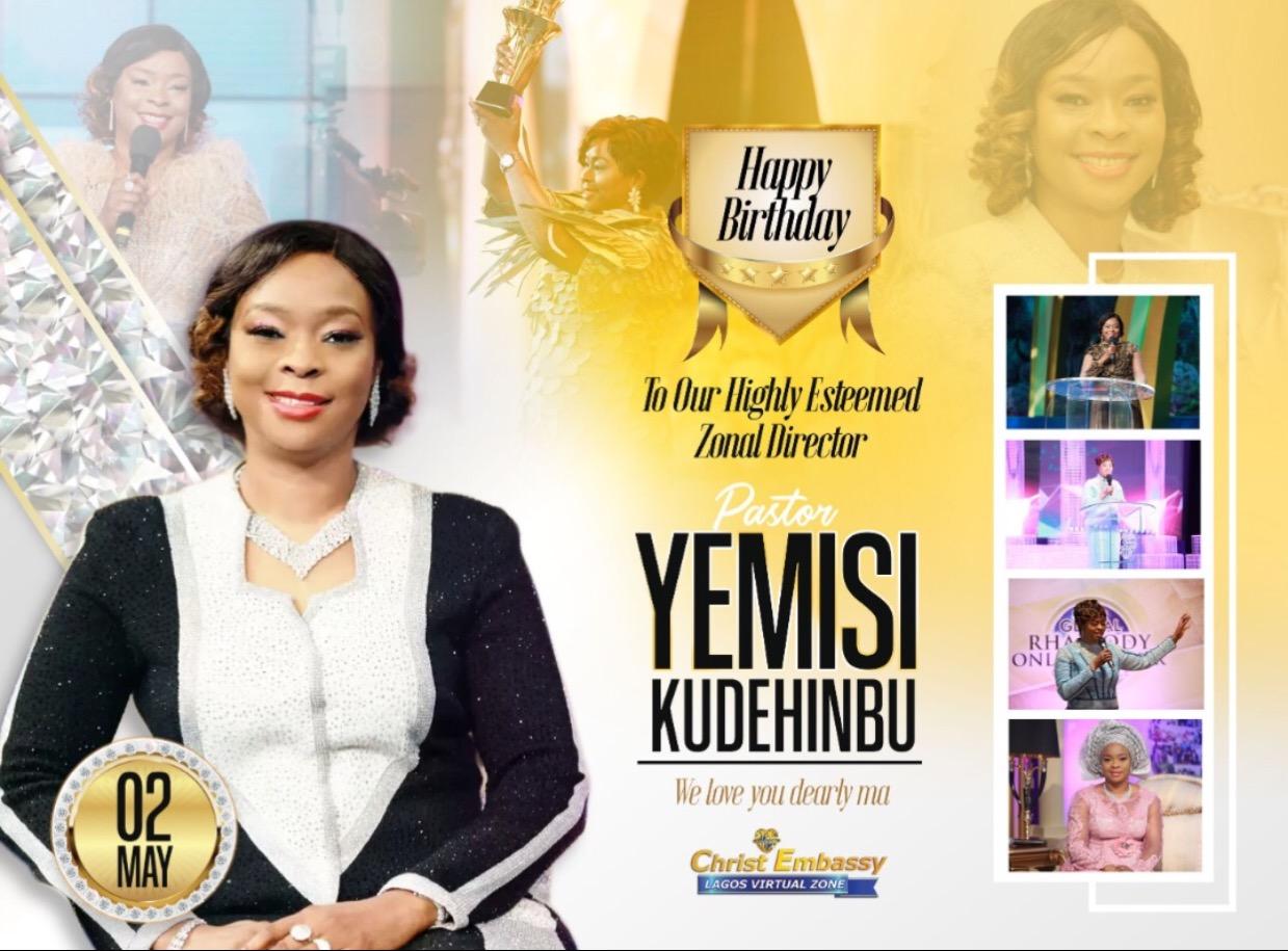 Happy birthday Dearly Beloved pastor